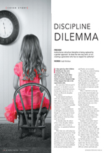 Discipline Dilemma My Weekly Preview May 2013 1